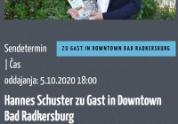 Hannes Schuster zu Gast in Downtown Bad Radkersburg